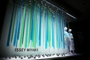 ISSEY MIYAKE S/S 2018 Window Installation